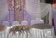 украшения на свадьбу, свадебный декор, прокат текстиля, флористика киев