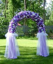 свадебная арка, арка для росписи, арка для церемоний, выездная церемония,