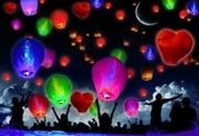 Небесные фонарики оптом и в розницу,  летающие фонарики опт