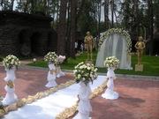оформление залов для выпускных балов,  тематические вечеринки,  свадьба