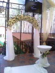 свадебные товары,  прокат венчальной арки,  арка на свадьбу киев
