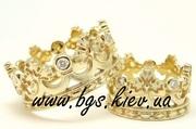обручальные кольца из желтого золота  wwwbgs.kiev.ua