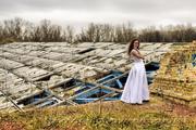 Фотосессия в стиле Trash the dress