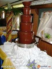 Шоколадный фонтан украсит любое торжество