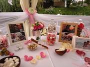Оформление свадьбы,  европейская свадьба,  флористика на свадьбу,  прокат