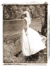 Trash the Dress -послесвадебная оригинальная фотосессия.