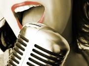 Живой вокал и гитара