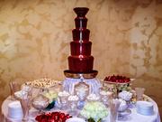 Шоколадный фонтан на корпоратив,  аренда на вечер