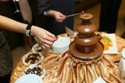 Аренда шоколадного фонтана на свадьбу