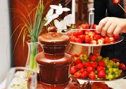 Шоколадный фонтан на праздник. Доставим,  установим,  запустим