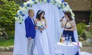 Ведущая на свадьбу ЮЛИЯ СИГАЛОВА г. Киев. Проведение выездной церемонии.