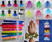 Аксессуары для девичника: юбки,  фата,  ушки,  шляпки,  вуалетки