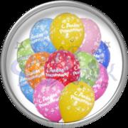 Гелиевые шарики,  фигуры из шаров,  оформление зала шариками