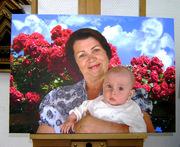 Ваше фото на холсте. Фото на холсте. Печать фото на холсте Киев.